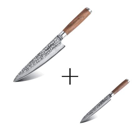 Damastmesser-Küchenmesser-und-Filetiermesser-245-cm