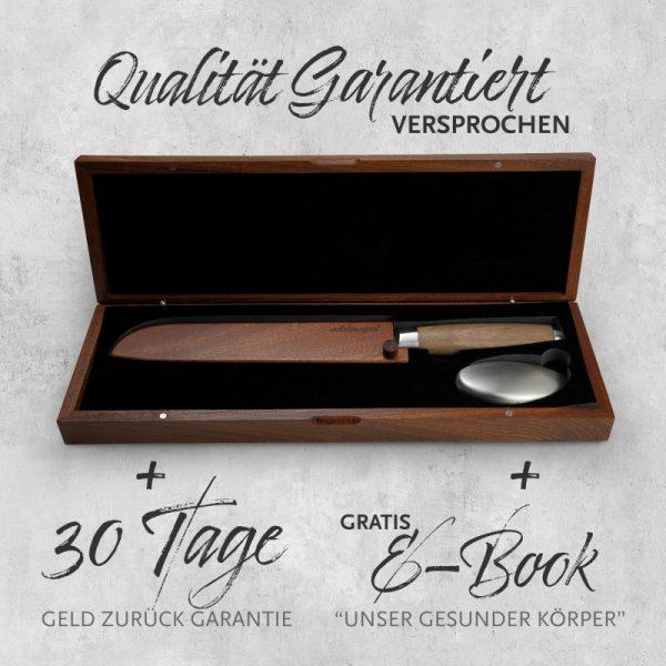 Damast Brotmesser Box