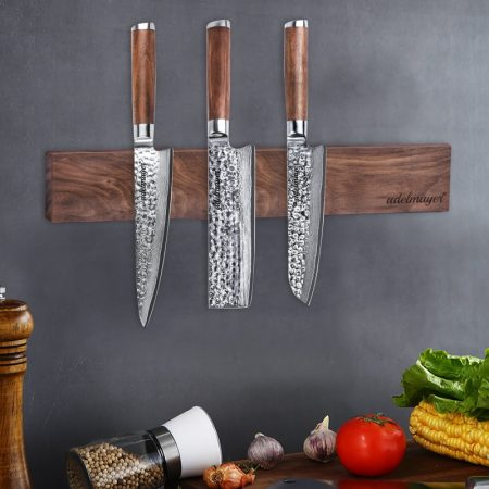 Damast Messer Set 4