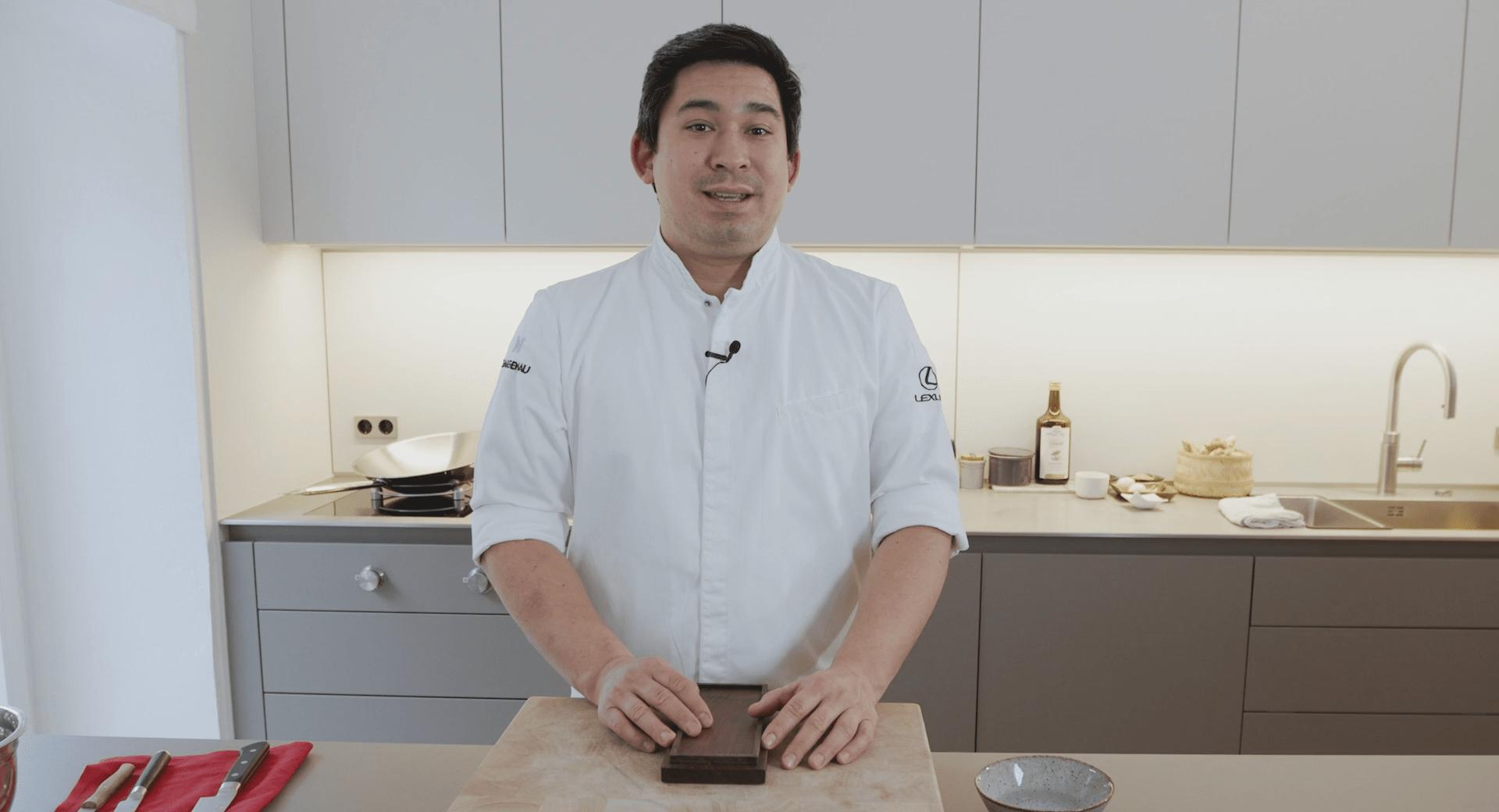 Schleifstein Erklärvideo mit Sternekoch Tohru Nakamura